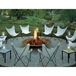 Fire Pit Set with Chairs