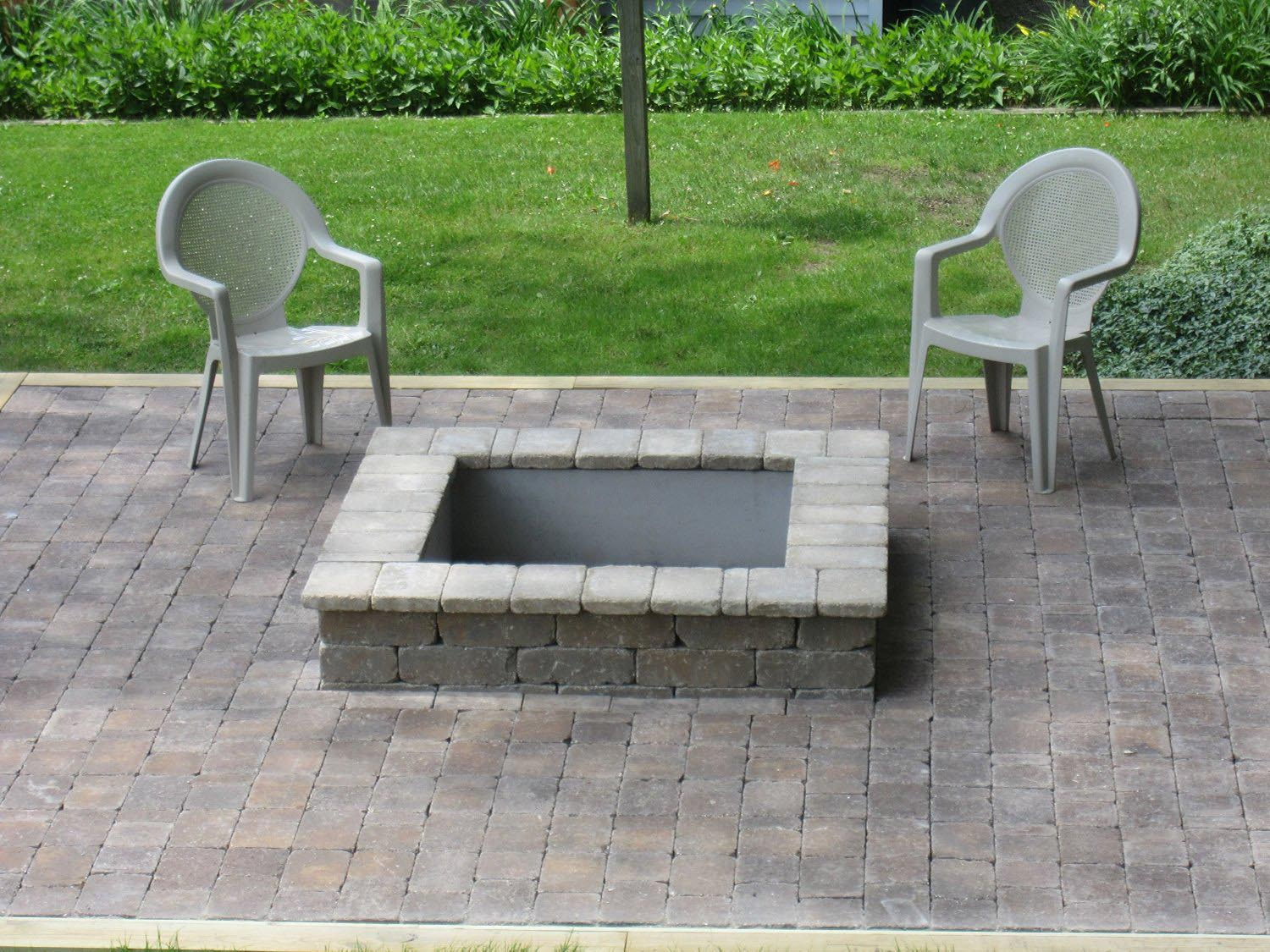 16 rectangle fire pit insert can i use a fire pit in my for Best fire pit design