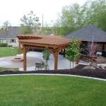 Octagon Fire Pit Swing | Fire Pit Design Ideas