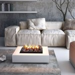 Fire Pit Table Modern