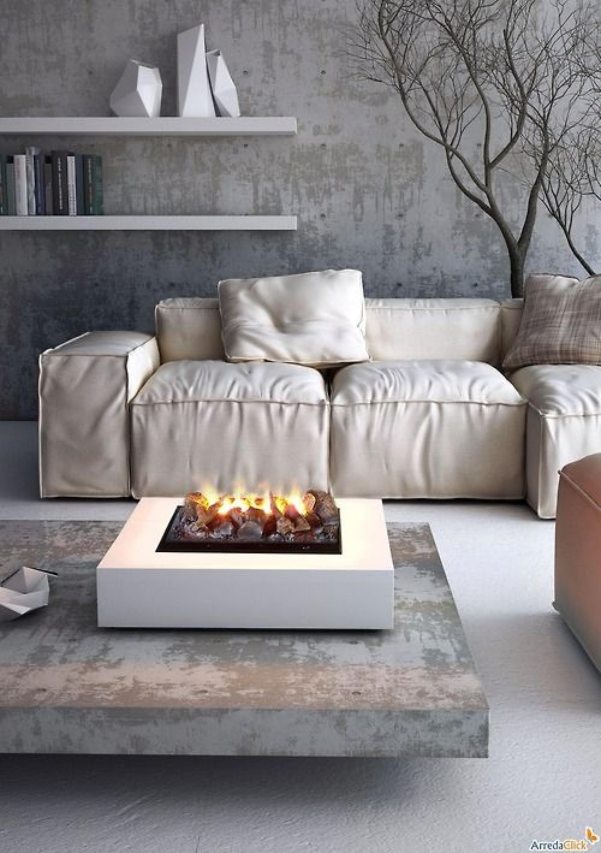 Fire pit table modern fire pit design ideas for Modern fire pit