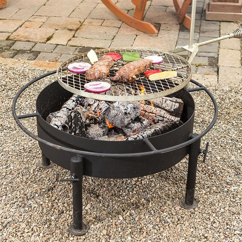 Types Of Fire Pit Grills Design Ideas