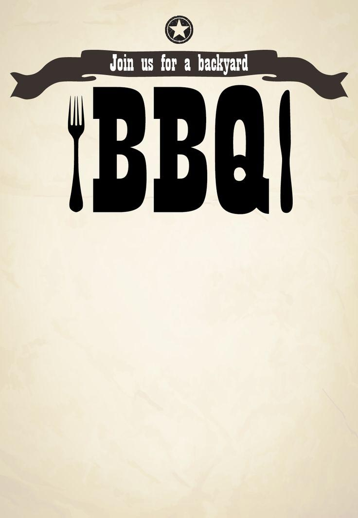 Free BBQ Party Invitation Templates