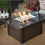 Gas Fire Pit Tables and Chairs Sets