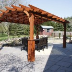 Gazebo Fire Pit Swing