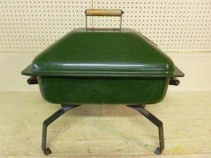 Green Coleman Fire Pit