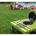 Grill Fire Pit Table