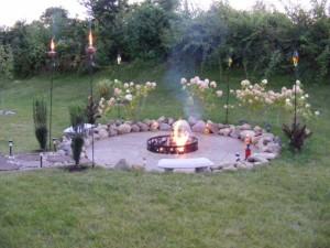 Homemade Backyard Fire Pit