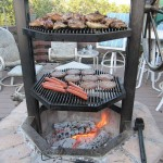 Homemade Brick BBQ Grill Plans