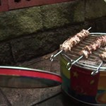 Homemade Brick BBQ Grills