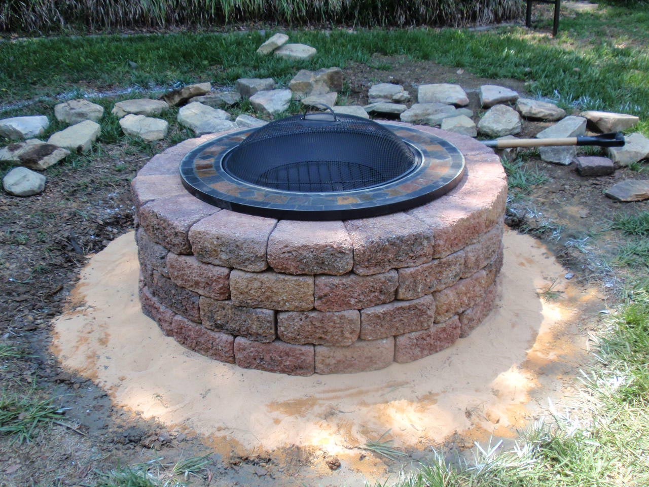 Homemade Fire Pit Plans