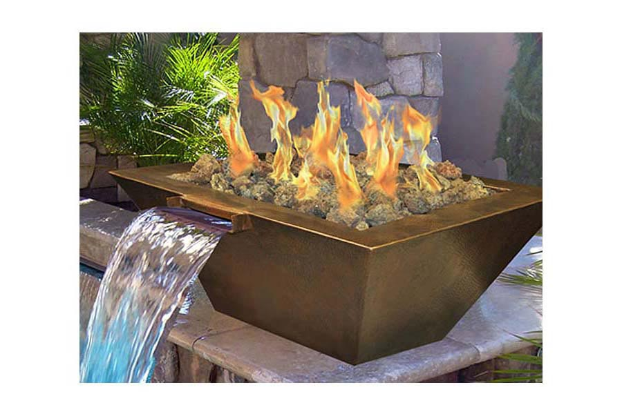 Homemade Gas Fire Pit