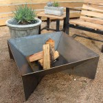 Homemade Metal Fire Pit
