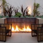 Homemade Modern Fire Pit