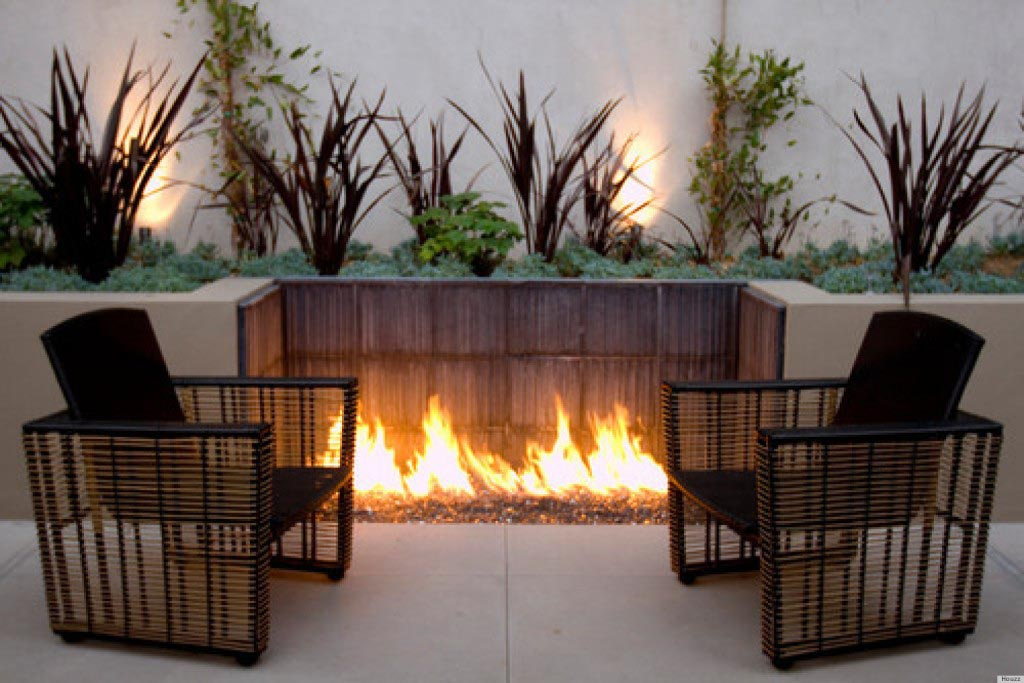 Homemade modern fire pit fire pit design ideas for Modern fire pit ideas