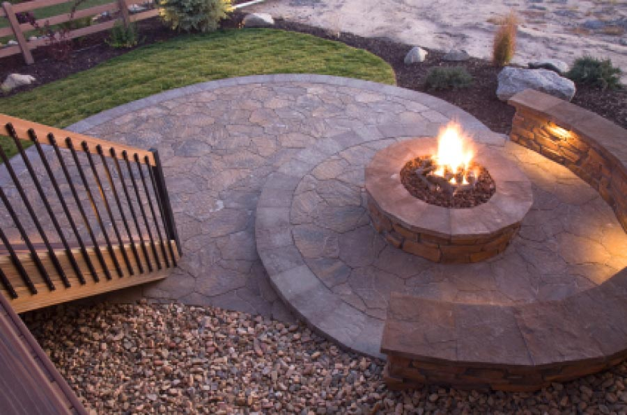 Homemade Outdoor Fire Pit