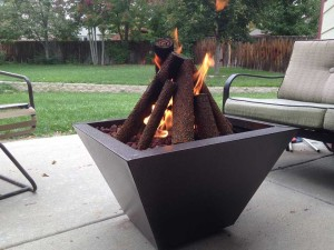 Homemade Portable Fire Pit