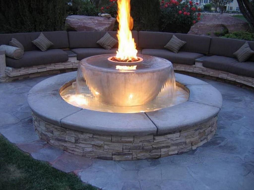 Homemade Propane Fire Pit