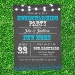 Housewarming BBQ Party Invitations