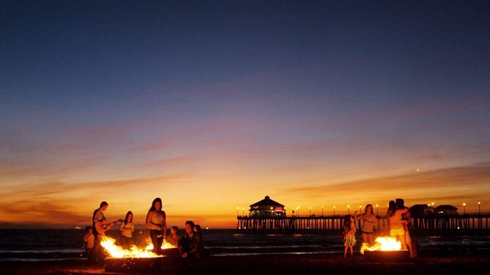 Huntington Beach Fire Pits
