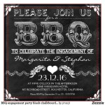 I Do BBQ Engagement Party Invitations