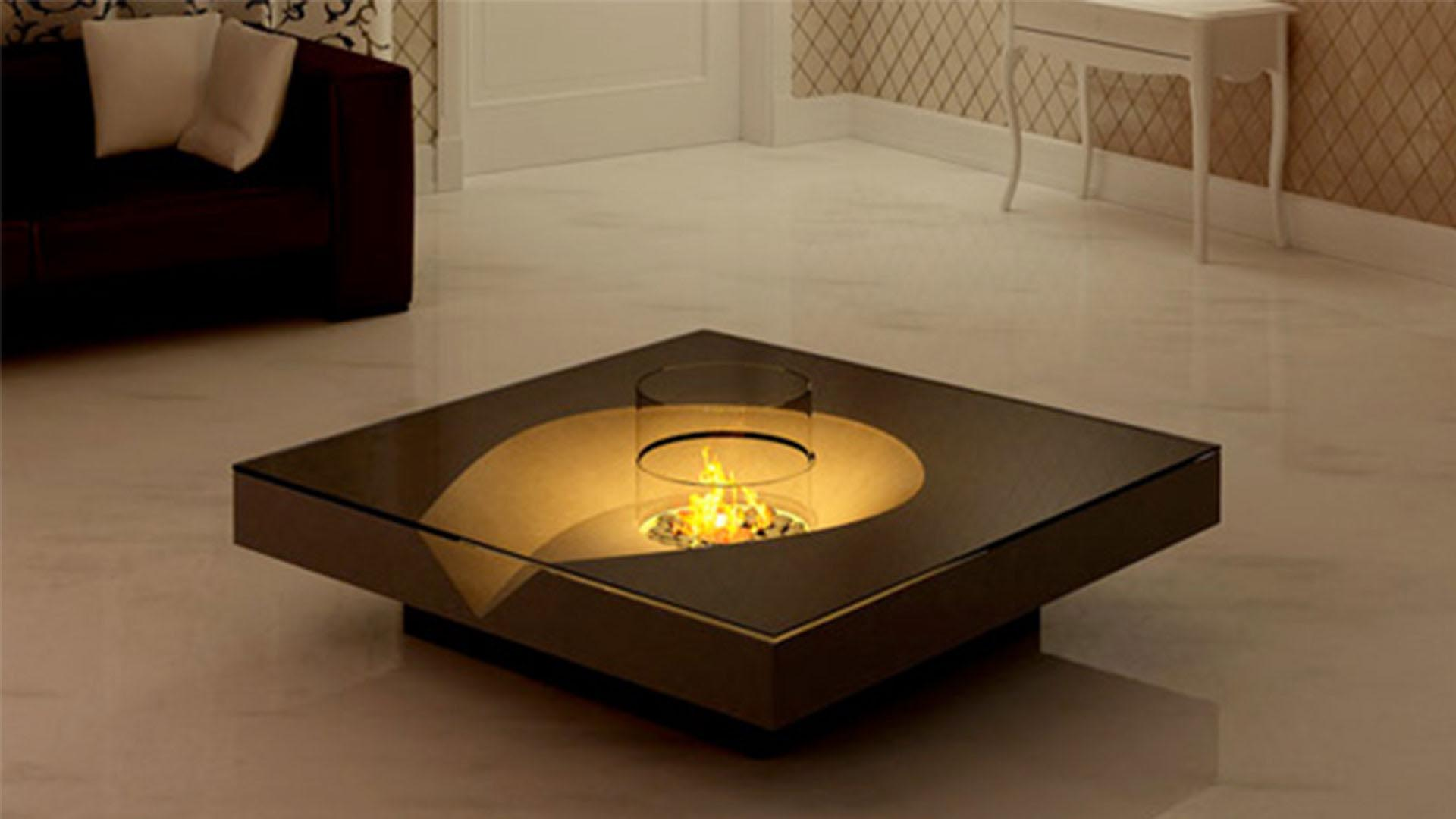 Indoor Coffee Table Fire Pit