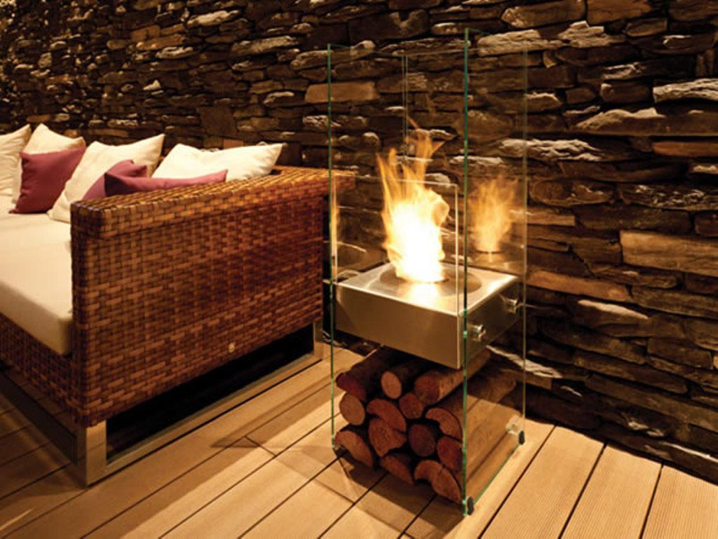 Indoor fire pit designs fire pit design ideas for Ventless fireplace modern