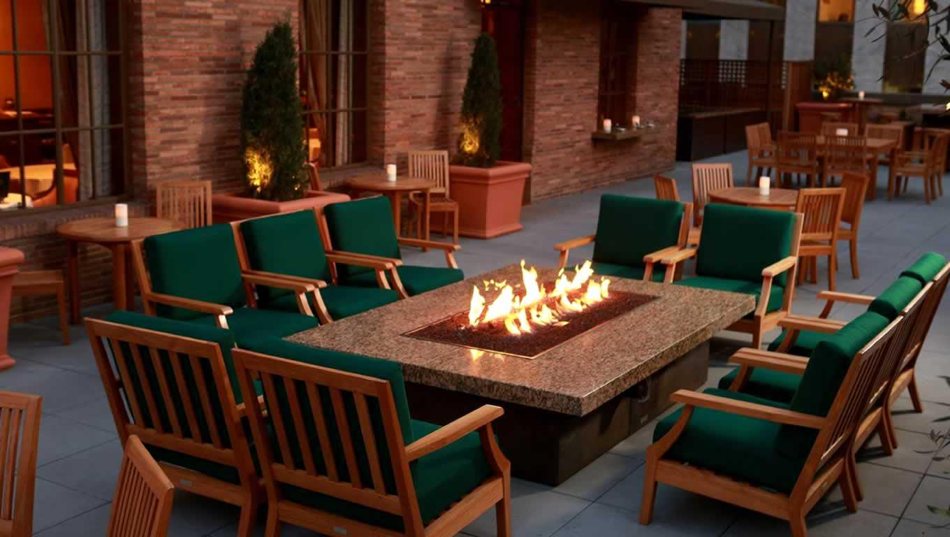 Indoor Fire Pit Hood | Fire Pit Design Ideas