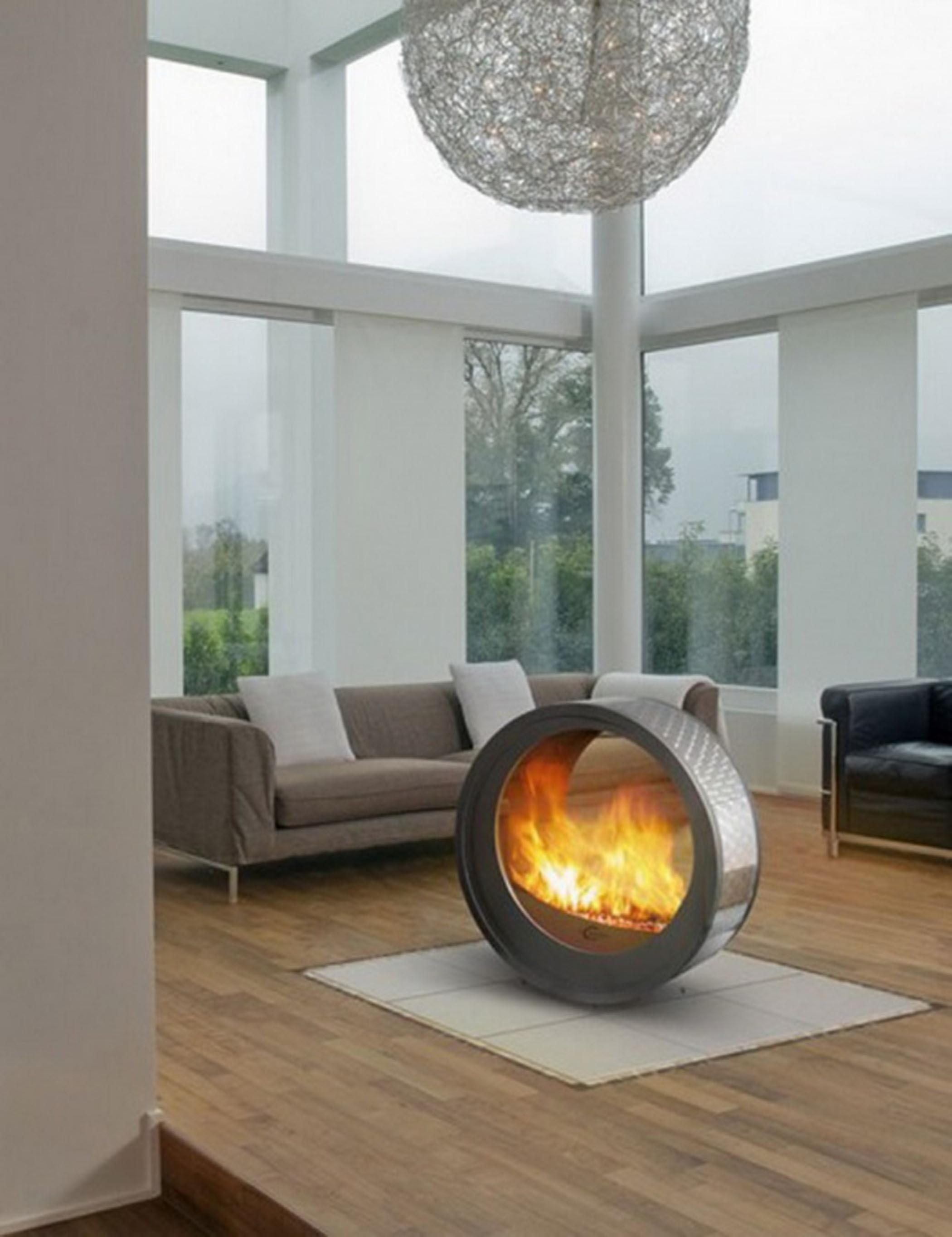 Indoor Gas Fire Pit
