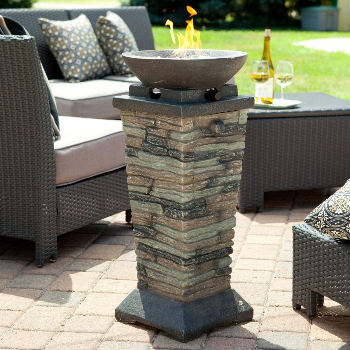 Indoor Fire Pit Is A Reality Of Nowadays Design
