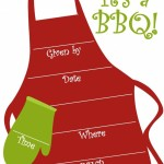 Invitations for BBQ Party