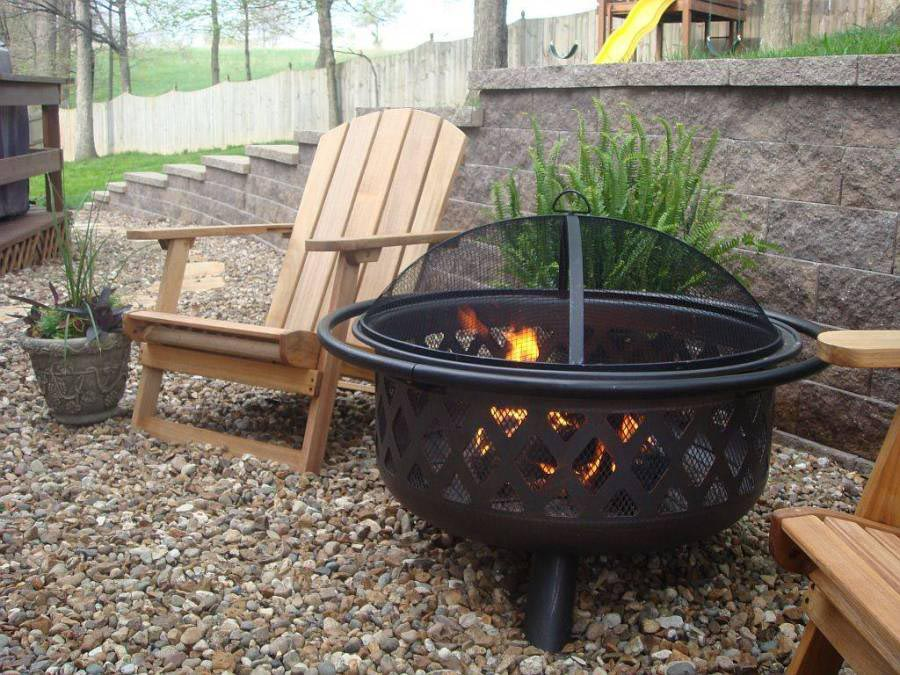 Mexican Clay Fire Pit