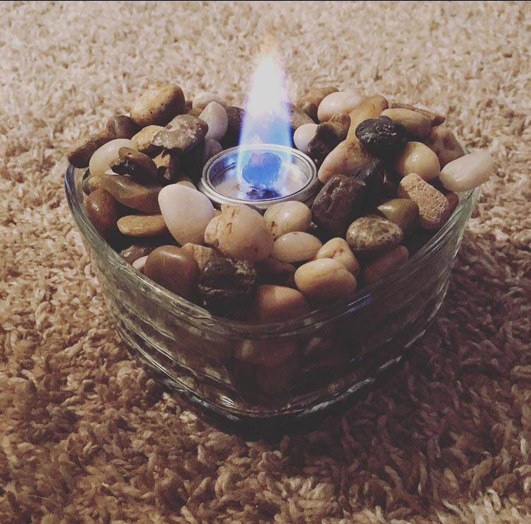 Mini Fire Pit DIY