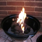 Mini Fire Pit for Balcony