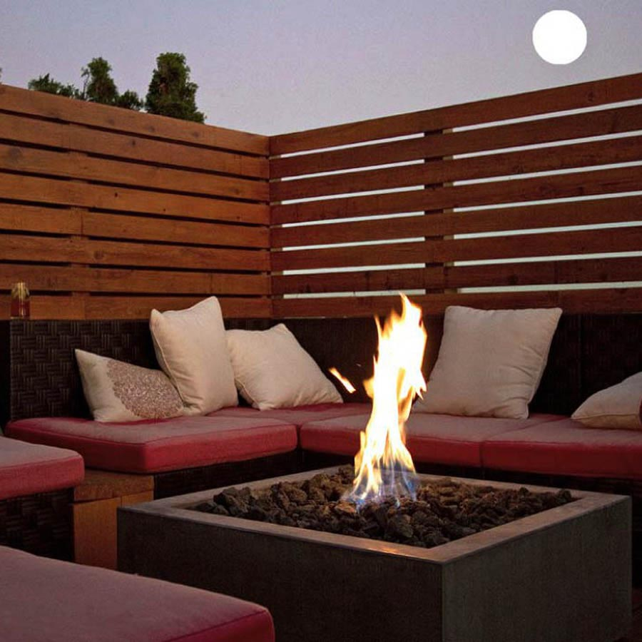 Modern fire pits outdoor fire pit design ideas for Outdoor modern fire pit