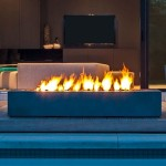 Modern Outdoor Fire Pit