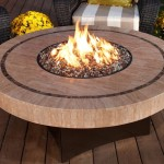 Modern Outdoor Fire Pit Table