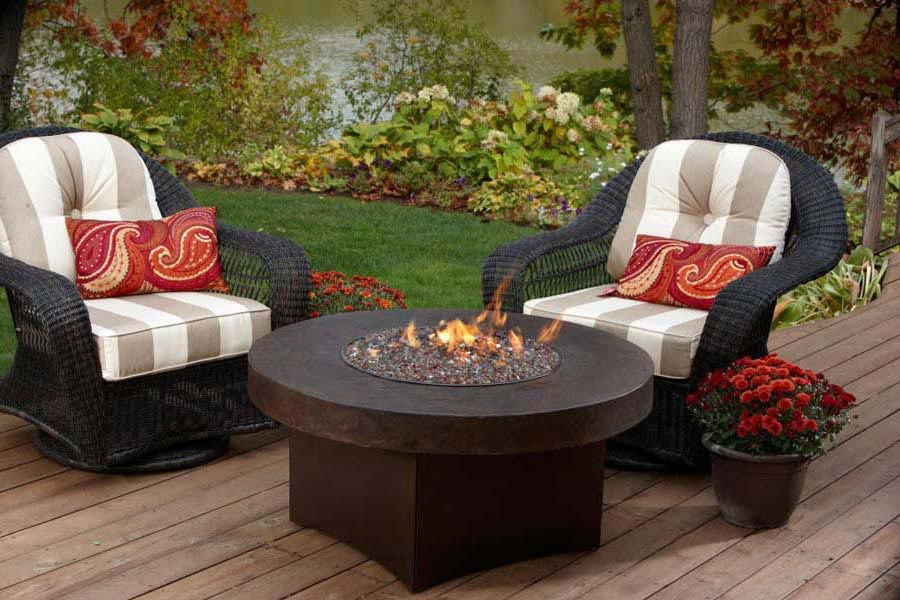 Modern Propane Fire Pit Table