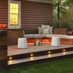 Modern Wood Fire Pit