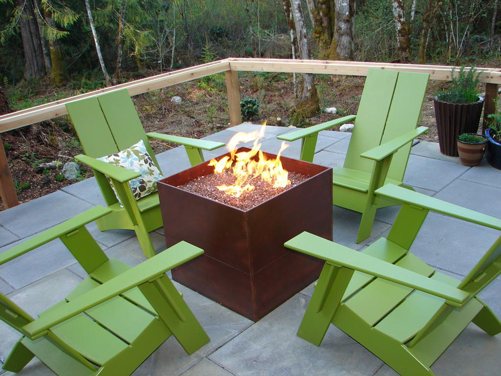 Oil Barrel Fire Pit