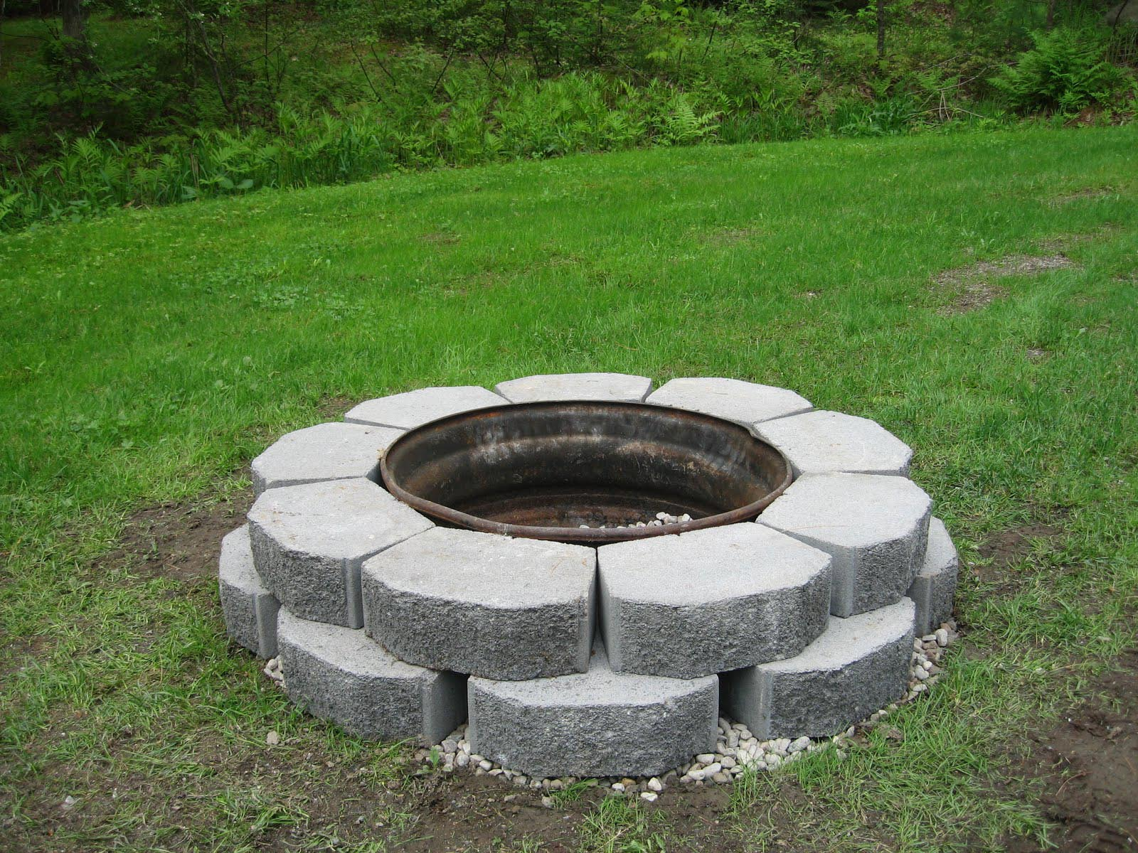 Old Rim Fire Pit