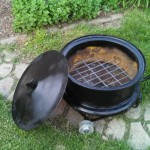 Old Truck Rims for Fire Pits