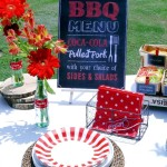 Outdoor BBQ Party Decorations
