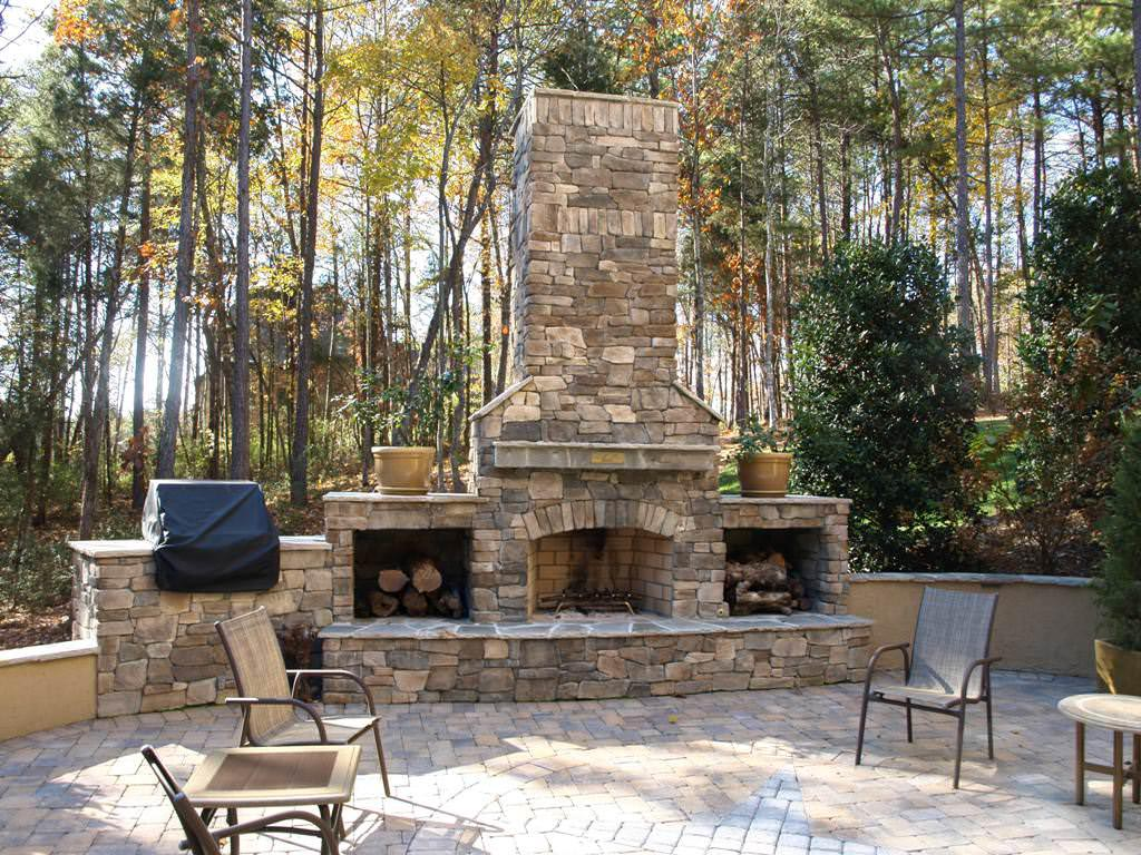 Create brick bbq plans before building barbeque or grill for Outdoor fireplace designs plans