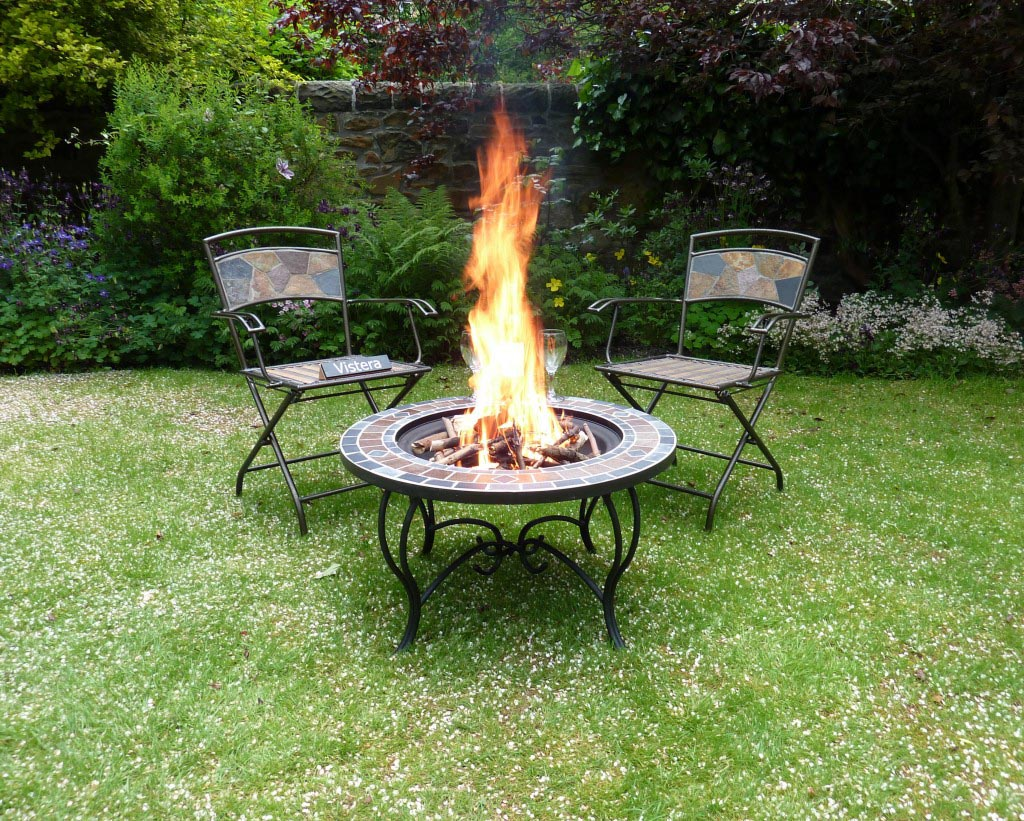 Outdoor ceramic fire pits fire pit design ideas for Porch fire pit ideas