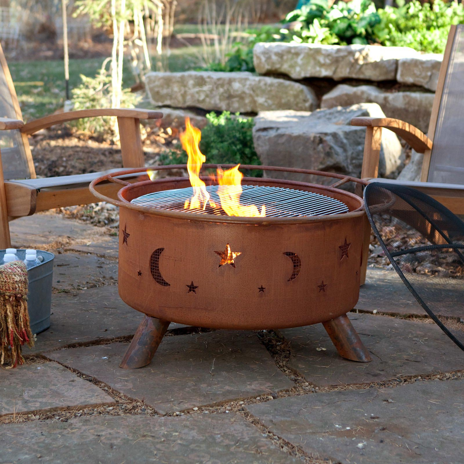 Outdoor Fire Pit Accessories Fire Pit Design Ideas