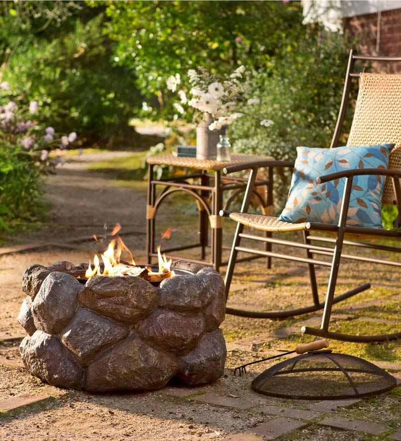 Outdoor Fire Pit Pad