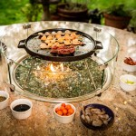 Outdoor Korean BBQ Table