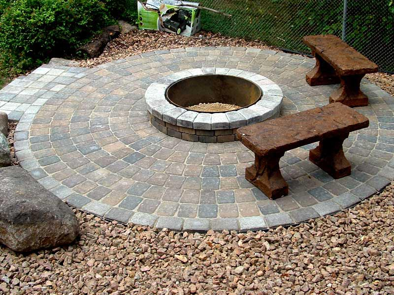 Paver Fire Pit Designs | Fire Pit Design Ideas