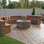Paver Patio Fire Pit Designs